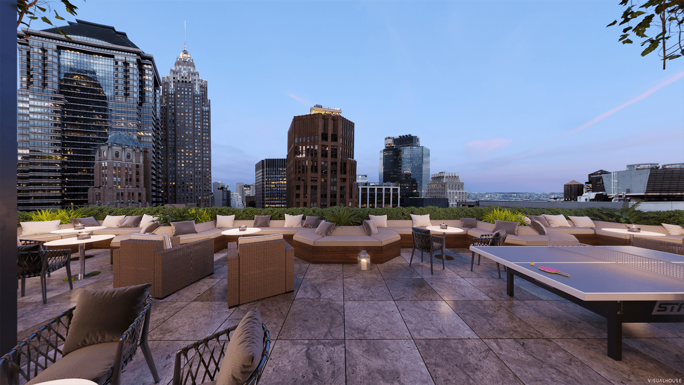 Tenant Exclusive Rooftop & Lounge